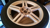 ROUES AUDI A4 17'' WHEELS AND TIRES