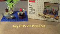 Lego pirate exclusive for vip members only with purchase