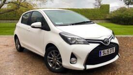 2015 Toyota Yaris 1.33 VVT-i Icon 5dr Satellite Manual Petrol Hatchback