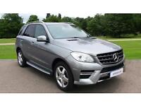 2014 Mercedes-Benz M-Class ML250 CDi BlueTEC AMG Sport 5d Automatic Diesel 4x4