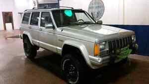 96 Jeep Cherokee Country 4x4 Lifted