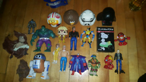 Small Toy Lot Action Figures