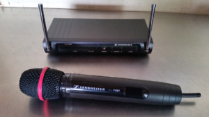Sennheiser Wireless cordless microphone