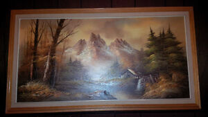 Series Of Mountains Paintings Strathcona County Edmonton Area image 3