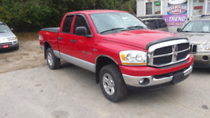 06 dodge ram 1500 quad cab 4x4 safety  included