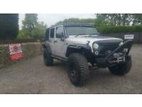 Jeep Wrangler 3.8 auto loaded with aftermarket extras jap import rust free 2010