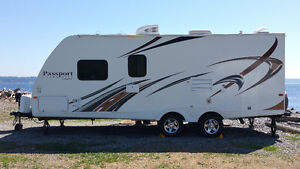 RV TRAILER FOR RENT 2014 25'  PASSPORT ULTRA LITE WITH BUNKS fro