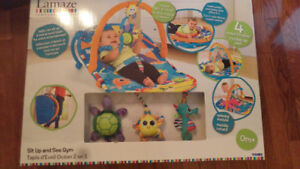Lamaze sit up and see gym baby toy