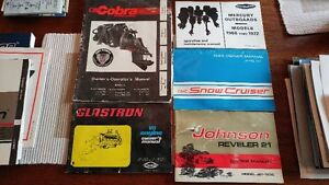 Boat /motor brochures/posters/80's /90's/2000 ish...have many