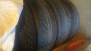 "18"" set of chrome rims and tires Windsor Region Ontario image 3"