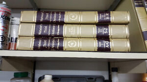 "Encyclopedia Britannica 24 Volume Hard Cover Set """"Reduced"""""