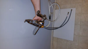 New Moen kitchen taps less then a year old