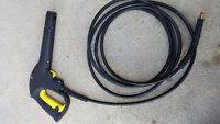 Karcher Electric Pressure Washer Gun and Quick Connect 14' Hose.