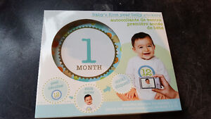 Baby month to month belly stickers