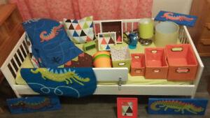lit ikea pour enfant transition avec matelas literie décoration
