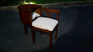End Table with Cat Cubby