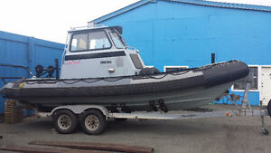733 ZODIAC HURRICANE WITH TRAILER FOR SALE
