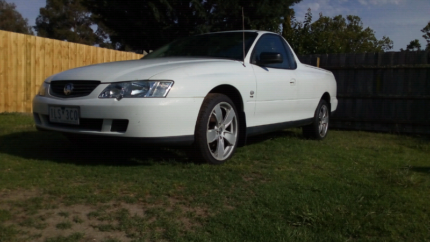 Vy commodore ute manual with rwc and 3 month's rego Bairnsdale East Gippsland Preview