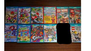 11 Nintendo Wii U Video Games PERFECT CONDITION