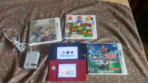 3ds and 3 games