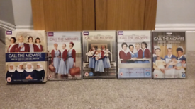 Call the Midwife DVDs - Series 1 to 8