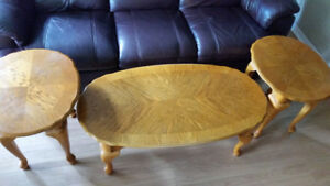 Solid Wood Coffee table set (3) $150 OBO