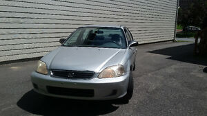 URGENT - 2000 Honda Civic Grise Silver - 5 days left!