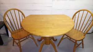 Kitchen Wooden Table Set (Moving Sale)