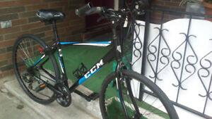 hybrid bike.