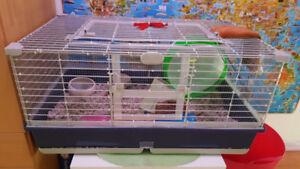 Complete Hamster/Guinea Pig/Rabbit Cage and Accessories