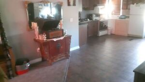 2 bedroom, second floor of shop, private, next to st lawrence pa