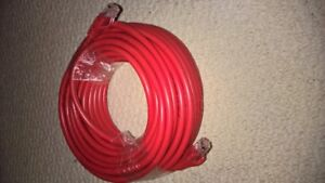 50 feet / 15.24 meters Ethernet cable cat 6 red