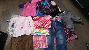 Giant 4/5t girls lot