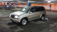 2002 Suzuki XL7 4x4 *GREAT CONDITION 106,000KM*