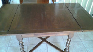 Kitchen Table and Buffet Antique