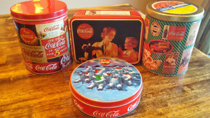 Coke Coca-Cola Tin Cans