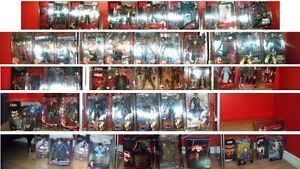 Huge Action Figure Collection For Sale. Very Rare Items.