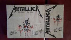 3 VHS de Metalica Live shi... : Binge & Purge + BONUS