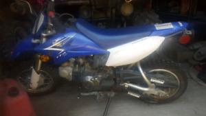 2012 yamaha ttr 50 cc