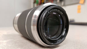 Sony E-Mount 55-210mm Camera Lens
