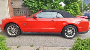 Hot Red 2011 Ford Mustang Convertible