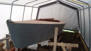Wood Lightening Sailboat