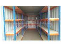 Heavy duty shelving – store up to 610kg per shelf – 4 shelves per rack