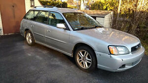 2004 Subaru Legacy Wagon + Winter Tires