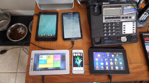 Samsung, Blackberry, Polariod and Dell Tablets for sale