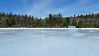 5 ACRES AND APPROX 800' WATERFRONTAGE ON LAKE CHARLOTTE