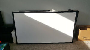 """80"""" 16:9 mounted projector screen"""