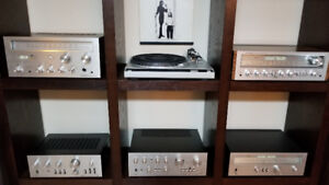 Collection of 1976 Vintage Pioneer Amplifiers and Receivers
