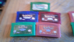 GBA gameboy games.