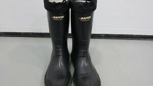 Used size 11 Insulated Rubber Safety Boots